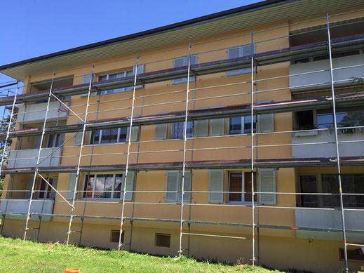 Fassadenbau Hirzenbach