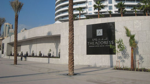The Adress Hotel, UAE
