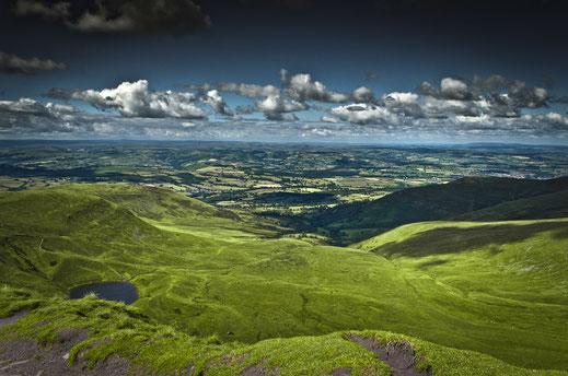 Zerina Kaps, Wales, Berge, Landschaft,