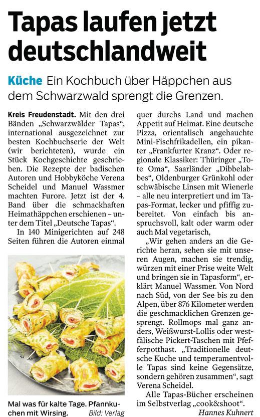 Schwäbische Zeitung November 2019