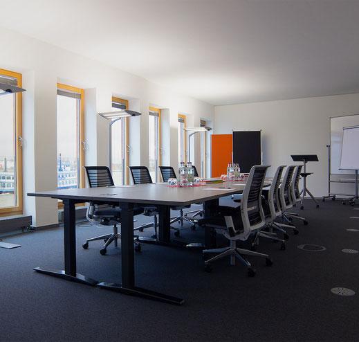Blick aus dem Seminarraum 3