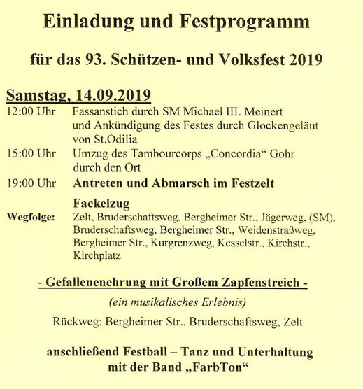 Plakat Jubiläum 2019