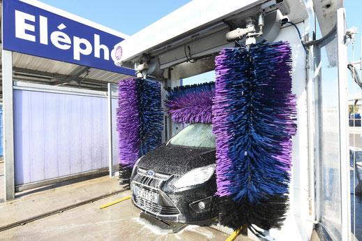 Portique de lavage auto - Eléphant Bleu Châteauroux-Déols-Le Poinçonnet