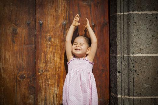 fotógrafo de niños en Tenerife reportajes infantiles