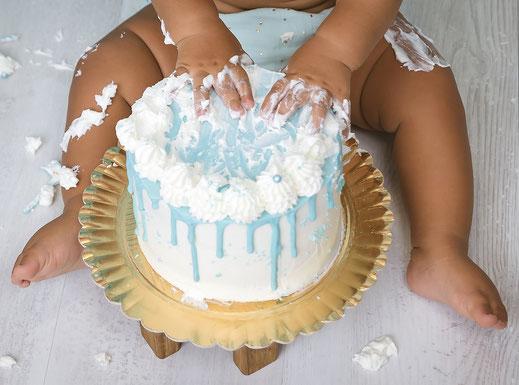 cake smash estudio fotografico en Tenerife