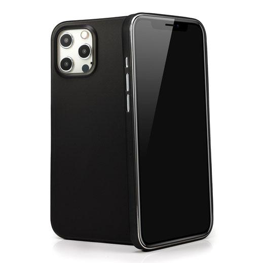 Tenuis iPhone 12 Hülle in Schwarz