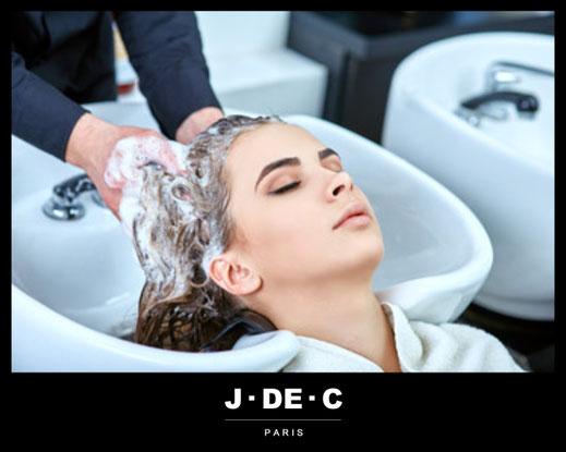 L'Art du Shampooing, Bain Salon de Coiffure, J.DE.C Coiffure, Expert L'Oréal Professionnel