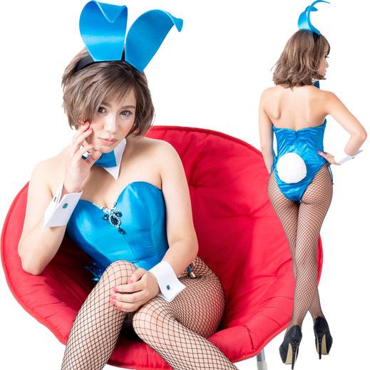バニー衣装 ブルー コスプレ バニーガール 大きいサイズバニー TOKYOバニーガール 衣装 男性用バニーガール衣装 男性用バニー 着ぐるみバニー 着ぐるみバニーガール