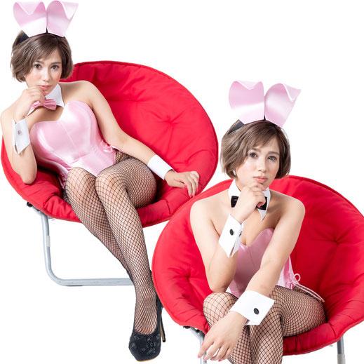 バニー衣装 ライトピンク コスプレ バニーガール TOKYOバニーガール