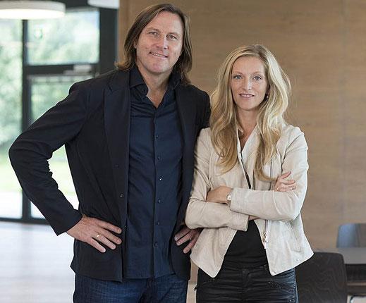 Rainer Petek und Irene Antonia Graf