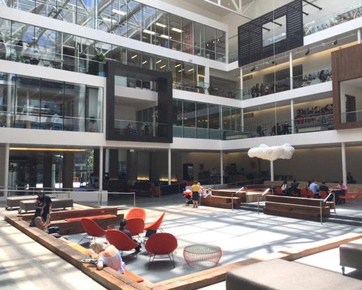 Silicon Valley innovative Raumkonzepte, Beratung durch Irene Antonia Graf und Rainer Petek