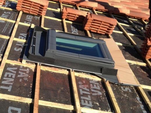 pose de fenetre de toit ouvrante