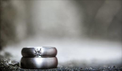 Produktfotografie Hochzeitsringe Frankfurt