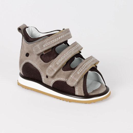 Coole Sandale für Jungs, guter Halt, einfaches Anziehen