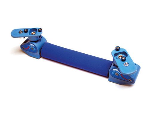 Schienenpolster aus abwaschbarem Neopren, mit praktischem Klettverschluss