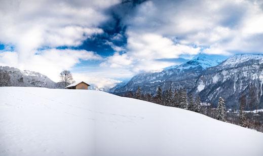Brienz, Richtung Planalp, Schweiz