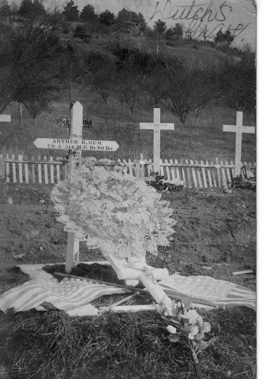 Première tombe d'Arthur - First grave of Arthur