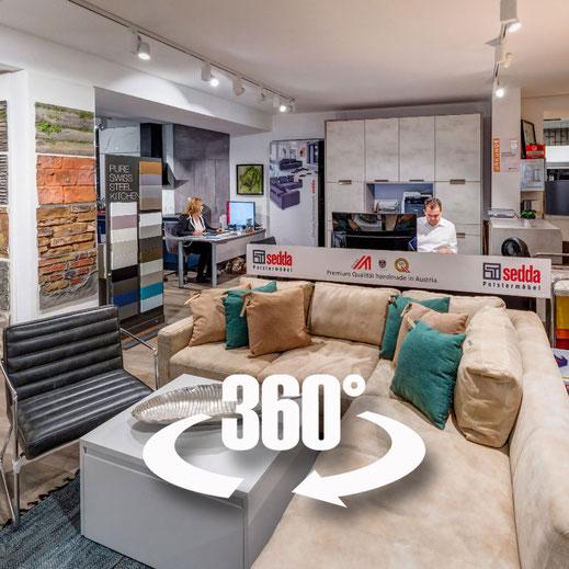 Unseren Showroom in 360° Grad entdecken - INNenRAUM Rattenberg