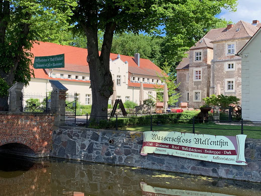 Wasserschloss Mellenthin Residenz am Balmer See, Haus B mit Appartement 45, Ferienwohnung GolfundMeer 052019 Photo © Peter Schmidt