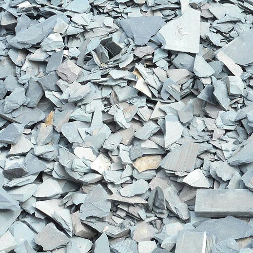morceaux d'ardoise à recycler - LMP design