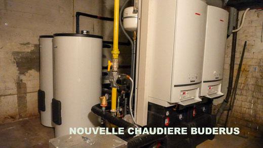 Installation chaudiere Buderus