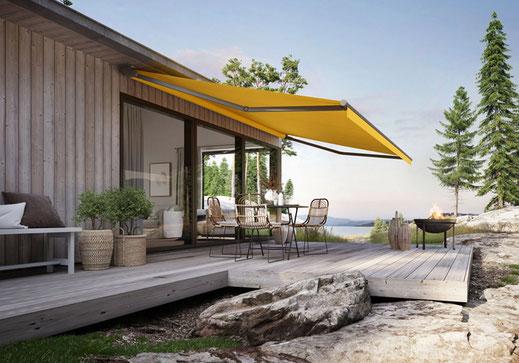 markilux 930 - Offene Gelenkarmmarkise für Terrasse und Balkon