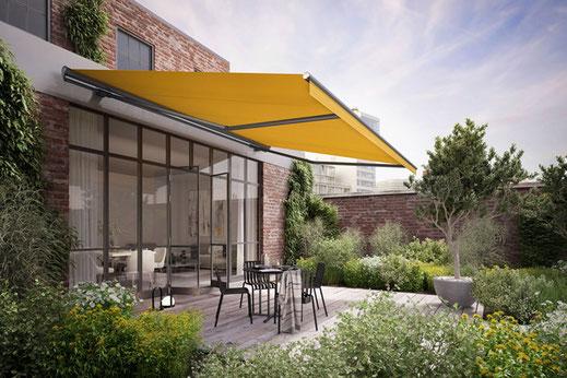 markilux 1710 - Gelenkarmmarkise für Terrasse und Balkon