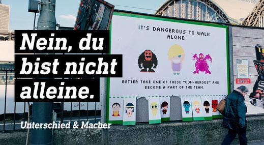 Unterschied & Macher | Kreative Jobsuche