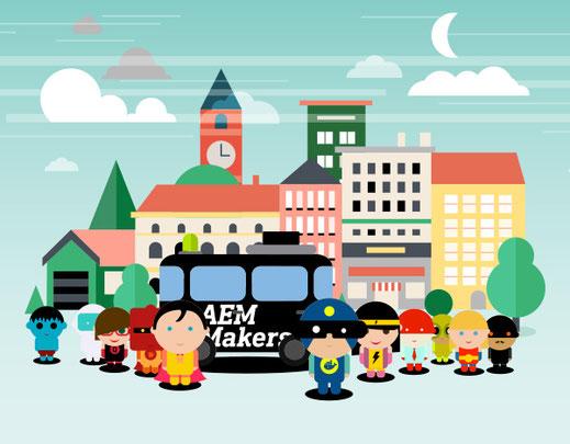 Gruppenbild der AEM Makers