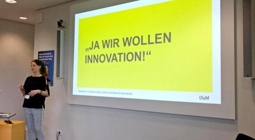 Unterschied & Macher | Innovation Barcamp Session