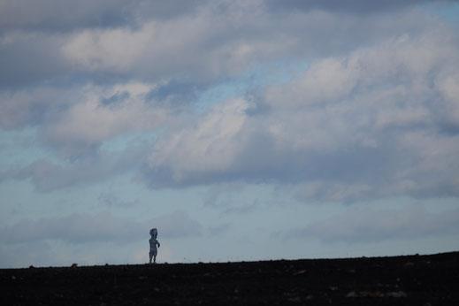 Heute ist Herkules vom Nordsternpark auf die Schurenbachhalde gewandert