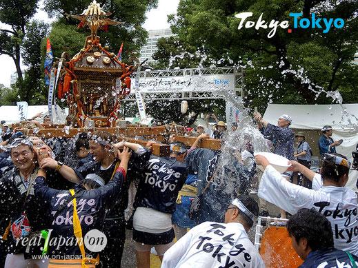 TokyoTokyo, 東京の魅力発信プロジェクト, 日比谷大江戸まつり, Tokyo祭り半纏, 日比谷公園