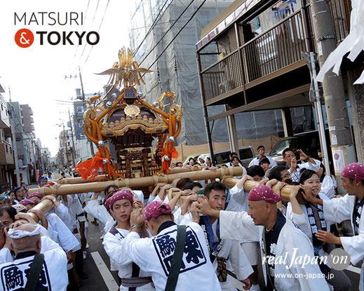 牛嶋神社大祭, 2015年(平成27年) 9月, 東駒形四丁目, 大神輿渡御