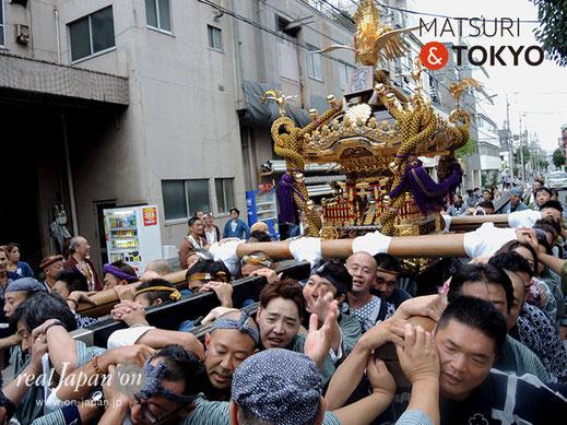 牛嶋神社祭礼 2016年(平成28年) 9月, 本所四丁目, 大神輿渡御
