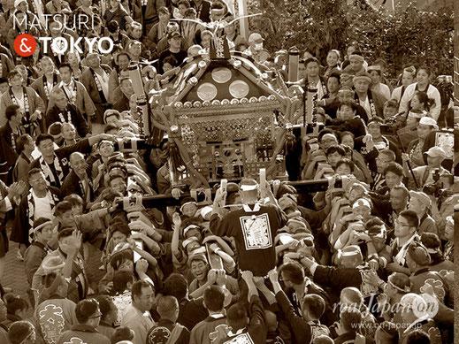 花畑大鷲神社式年大祭, 12年に一度の大祭, 足立区花畑, 酉の市, 2017年10月8日