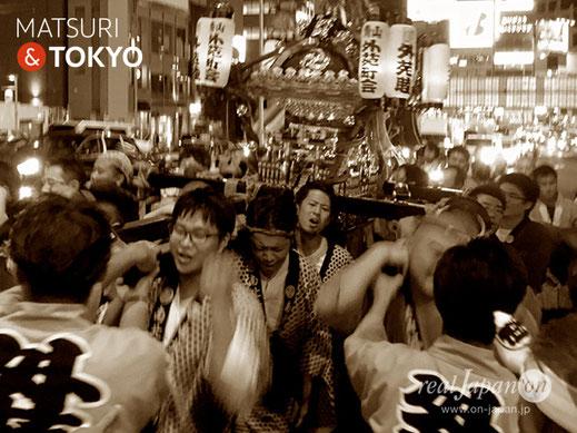 青山熊野神社例大祭, 青山外苑町会, 神輿渡御, CIプラザ, 青山墓地, 青山通り