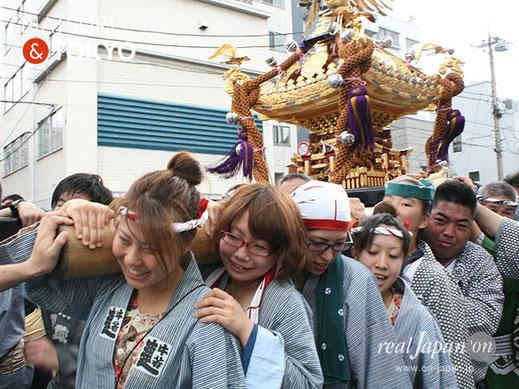牛嶋神社大祭 2012年(平成24年) 9月, 本所二丁目, 大神輿渡御