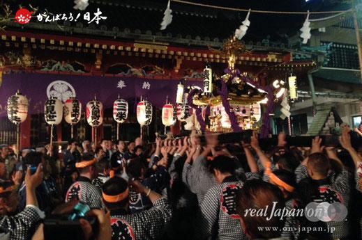 5月15日・20:02 撮影[浅草中央]三社祭2015年(平成27年)宵宮