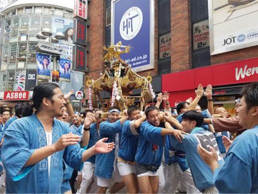 投稿写真,金王八幡宮例大祭,渋谷地区,神輿渡御