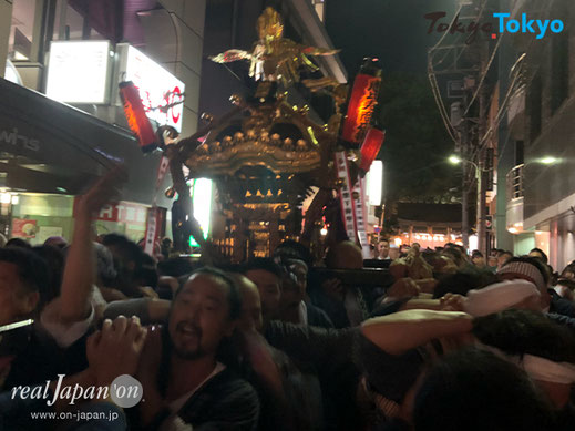 氷川神社例大祭, ,恵比寿, 渋谷区東,広尾 , 神輿渡御