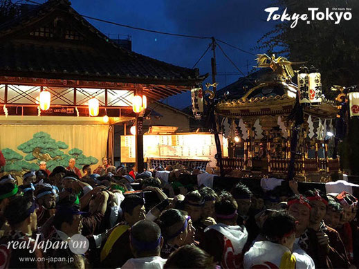 駒留八幡神社例大祭,2017年,本社神輿渡御,real Japan on