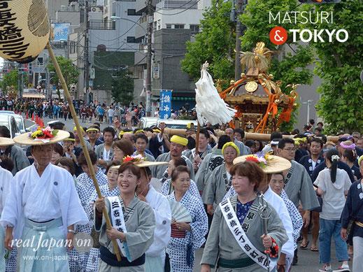 牛嶋神社大祭 2012年(平成24年) 9月, 横川3丁目, 大神輿渡御