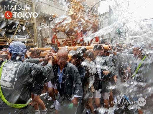 〈深川神明宮例大祭〉三番: 森下二丁目 @2018.08.12