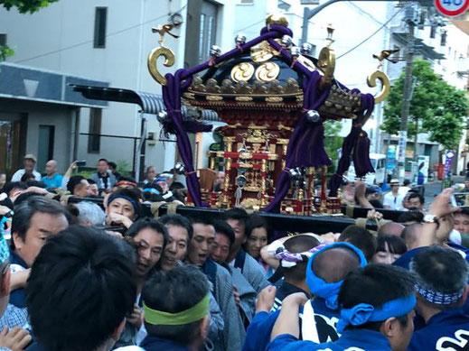 令和2年度, 石浜神社,例大祭,本祭 , 本社神輿, 神幸祭, 神明, 泪橋,中止