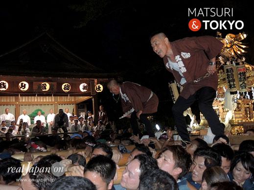 久我山稲荷神社,秋季例大祭,本社神輿,平成30年