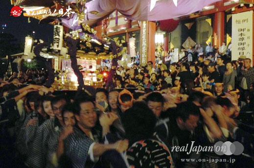 5月15日・19:55撮影[浅草中央]三社祭2015年(平成27年)宵宮