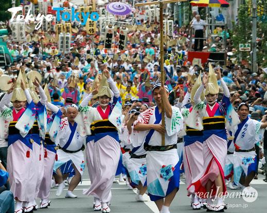 令和2年 8月22日(土)・23日(日)に開催される予定であった、「東京高円寺阿波おどり」(東京都杉並区)の開催中止が決定となりました。