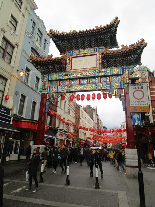 Das kunstvollste Eingangstor zur Chinatown