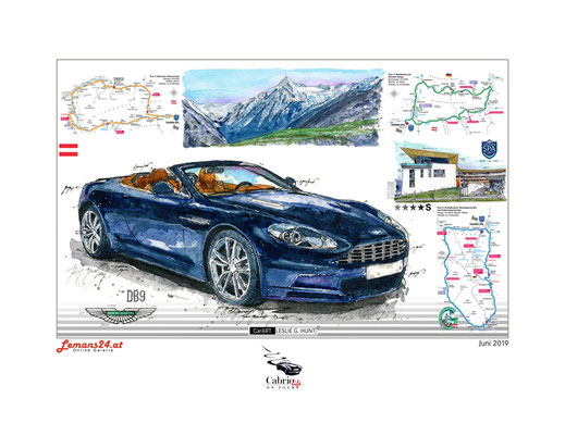 Cabrioausfahrt, Cabriolife, Tauern Spa Kaprun, Aston Martin DB8