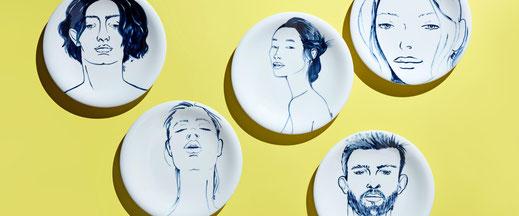 deutsche Mode deutsches Design online MEISSEN Manufaktur Luxus Porzellan Made in Germany Haus Glanz